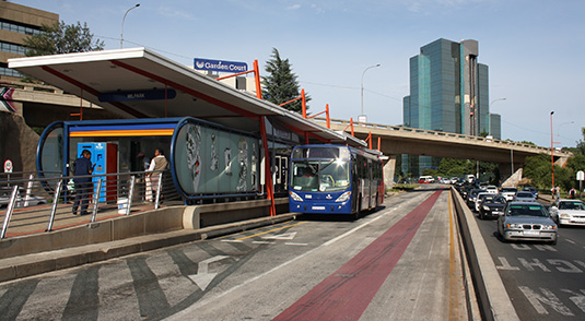 The backbone of the Corridors of Freedom and the enabler of access to rising economic democracy is reliable, affordable and dignified public transport, mainly the Rea Vaya Bus Rapid Transit System.